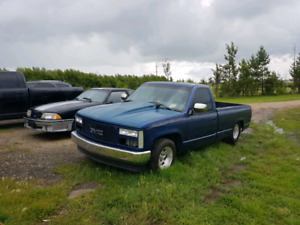 Trade or cash mini tubed 92 Chevy truck