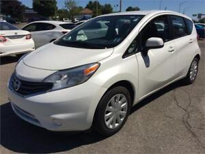 2014 Nissan Versa Note SV CAMERA A/C VITRES ELECT CRUISE BLUETOO