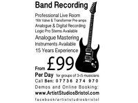 Recording Studio in Stokes Croft
