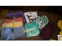 BOYS CLOTHES 11-12YRS MOST NEVER WORN