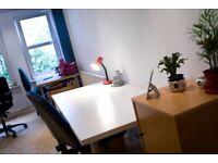 Desk for Rent - The Hidden Lane - Finnieston | Bright, cosy creative studio |