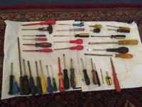 Screwdrivers and Hand tools £2 each