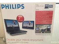 "Philips portable 7"" DVD player for Sale ( Brand New Boxed )"