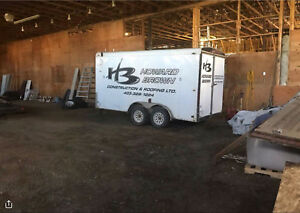 2006 Interstate 14ft Enclosed Utility trailer
