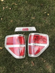 09-14 Ford F-150 Taillights and 3rd brake Light