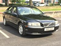 VOLVO S80 2.4 PETROL AUTOMATIC * FULL HISTORY INC CAMBELT * LEATHER * TIDY MOTOR * PX * DELIVERY