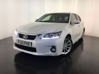 2013 LEXUS CT 200H SE HYBRID AUTOMATIC 1 OWNER SERVICE HISTORY FINANCE PX