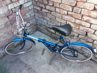 Triumph Traffic master 3 speed shopper bicycle 20 inch frame bike