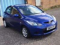 2009 Mazda 2 ts 1.4 diesel ,mot - July 2018 ,only 47,000 miles , 2 owners ,fiesta,corsa,clio,punto