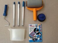 Paint roller flocked, with extending handle (BRAND NEW)