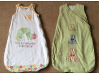 Baby Sleep Bags 0 - 6 Months - 2 for £5