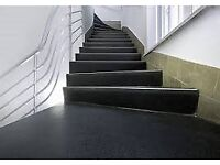 Altro Walkway Black Anti-Slip Vinyl Flooring Brand New 20m2 - 10m x 2m Roll Worth £600