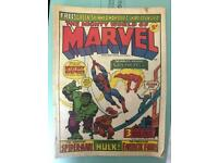 Marvel comics - mighty world of marvel number 1