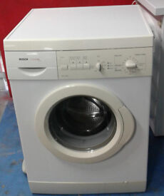 S541 white bosch 6kg 1100spin washing machine comes with warranty can be delivered or collected