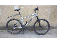 "Gary Fisher Tass hardtail bike MTB 17.5"" disc brakes suspension & alloy frame mens ladies"