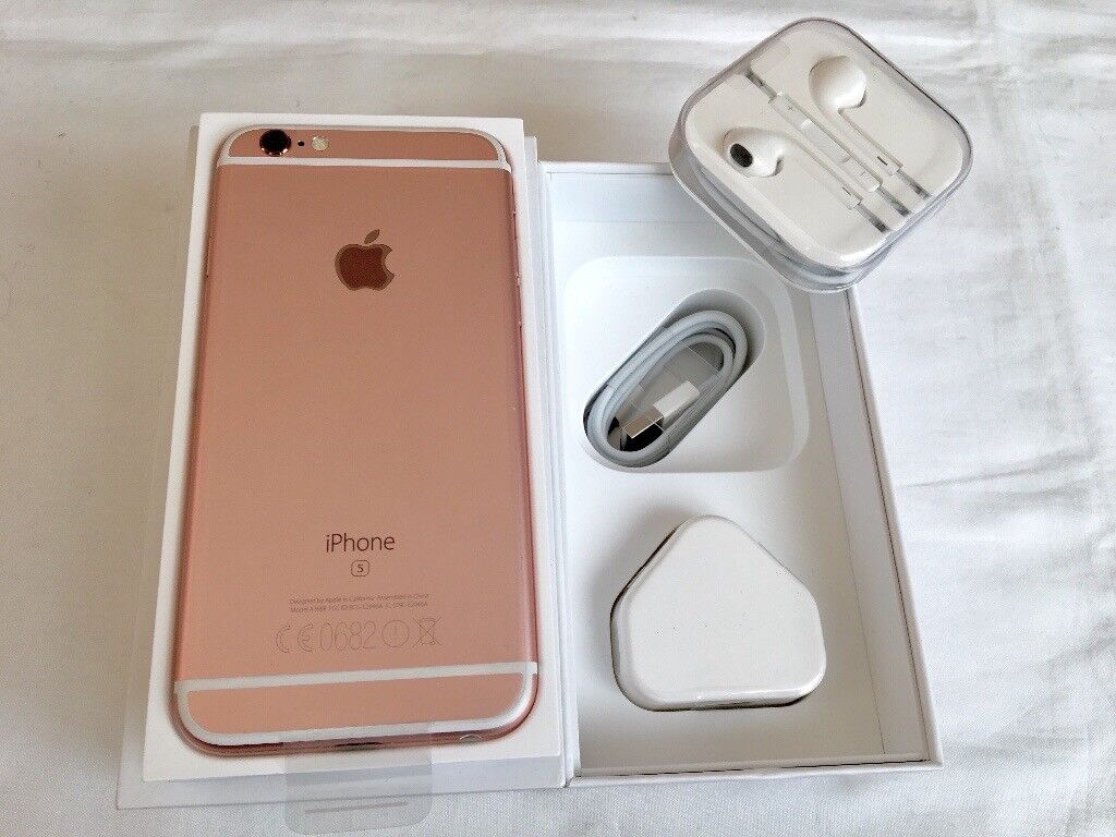 Apple iPhone 6S 64GB Rose Gold Brand new in box factory unlocked with warranty and proof of receiptin LondonGumtree - Apple iPhone 6S 64GB Rose Gold Brand new in box factory unlocked with warranty and proof of receipt for sale This is a brand new iPhone 6S 64GB in Rose Gold could Comes in box with all accessories Charger USB cable and headphone etc Comes with Apple...