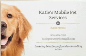 Katie's Mobile Pet Services