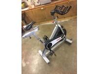 Johnny G Star trac spin bike, exercise, treadmill, gym