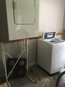 Washer, Dryer and Stacking Kit for Sale