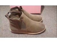 Suede ankle boots size 6 (39)