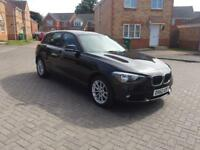 2013 BMW 1 SERIES MOT TILL APRIL FULLY SERVICED LOW MILEAGE ONLY 70k LADY OWNER FULL HPI CLEAR