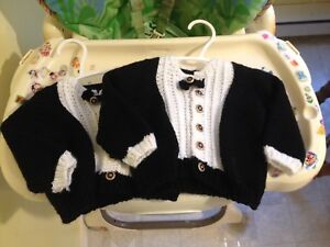 Boys Handmade Suit tops age 6-12 Months.