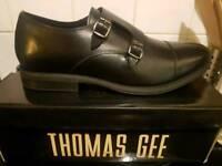 Mans black shoe