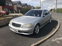 Mercedes S500 - Low mileage- Rare AMG SPORT -Urgent sale -Open to offers
