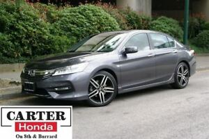 2016 Honda Accord Touring + LOW KMS + LOCAL + NAVI + CERTIFIED!