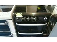 Hotpoint 60cm wide electric cooker for sale. Free local delivery
