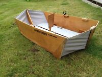 Folding Dinghy Boat Tender - LIFESPORTS - Boat Show Model (apx 6ft)