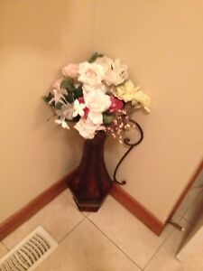 Vase with flowers $19