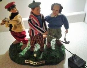 Stayner- The Three Stooges Animated Golf Scene Statue