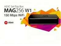 MAG 256 W1 * IPTV * 100% Genuine + *12 Months Gift * FULL WORLD HD PACKAGE * Wont Find Better*