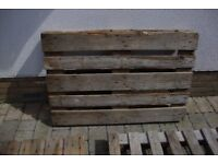 3 wooden pallets free to a good home compleat. ideal for fire wood or build a compost