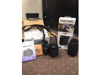 Canon EOS 600D Camera DSLR Bundle (Videography & Film)