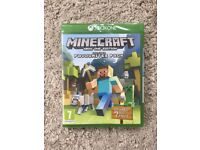 ***SEALED*** Minecraft: Xbox One Edition + 7 DLC PACKS