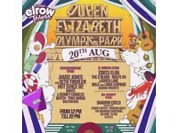 x3 Elrow Town London Sunday 20th £145 or £50 each