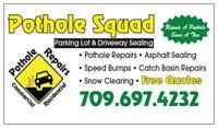 Driveway Sealing and Ashpalt Repairs