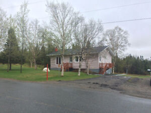 Well cared for home on 5 Acres of land near Clarenville