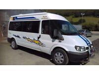 Ford transit 2.5 diesel campervan