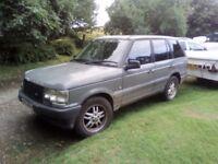 1998 Range Rover 2.5 Diesel Auto