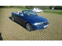 BMW 320 Ci convertible 2001 Y reg 2.2 Petrol Manual **110,000 miles**