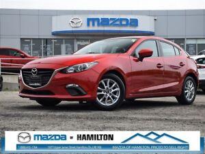 2014 Mazda MAZDA3 SPORT GS- LOW KM, BLUETOOTH, CRUISE CONTROL!