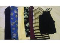 Ladies tops size 8