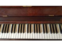 Beautiful Steck piano with carved legs and lovely case. Fabulous tone FREE FREE FREE
