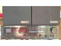 Denon DRA-25L 00 watts Integrated Amplifier Amp + Mission 70 2 Way speakers