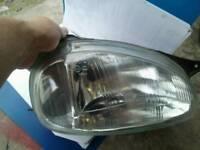 Vauxhall Corsa B O/S headlight brand new