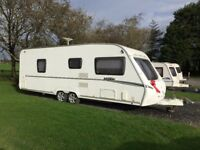 Fab fixed bed twin axle caravan