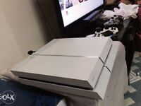 WHITE PS4 one controller